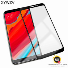 2PCS Full Glue Cover Glass Xiaomi Redmi S2 Tempered Screen Protector For Phone Film