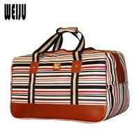 WEIJU New 2017 Luggage Travel Bag Fashion Nylon Waterproof Duffle Bag Large Capacity Women Travel Bags