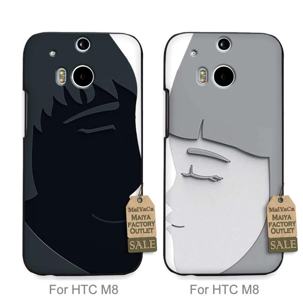 Maiyaca Хит продаж дизайн моды кожа тонкий пару ячейки для случая HTC Один M8 OZAKI релизы черный любовник
