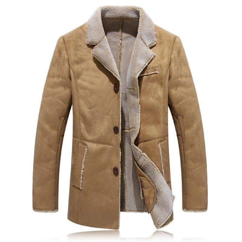 Popular Men Faux Shearling Coats-Buy Cheap Men Faux Shearling ...