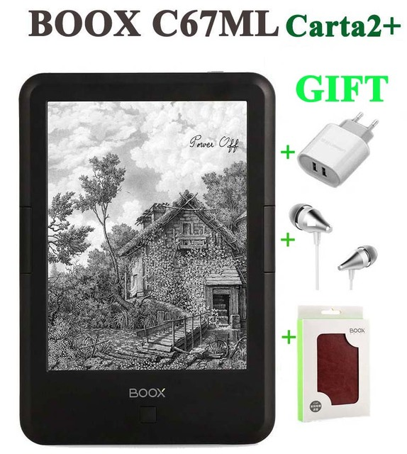 """New ONYX BOOX C67ML Carta2+ ebook reader  6""""  300PPI 3000mAh touch eink screen 8G WIFI Android4.22 pocket books gift PU cover"""