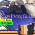 Upgraded Thicker Mattress!!! Multiple colors waterproof seat of car Air Cushion Car Inflatable Bed Air Outdoor sofa (Blue)