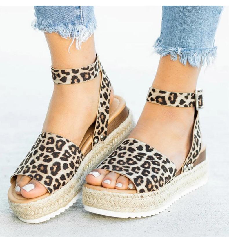 Women High Heels Sandals Summer Shoes Flip Flop Chaussures Femme Platform Sandals 27