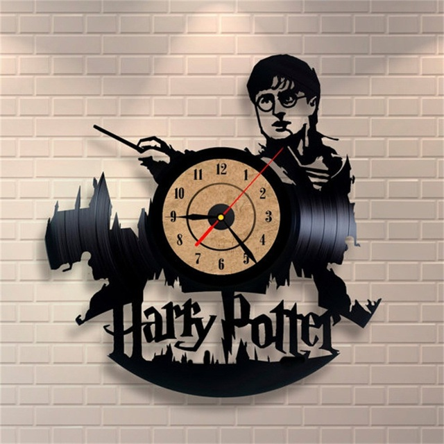 Creative Vinyl record CD Wall Clock Modern Design large decorative clocks unique home decoration