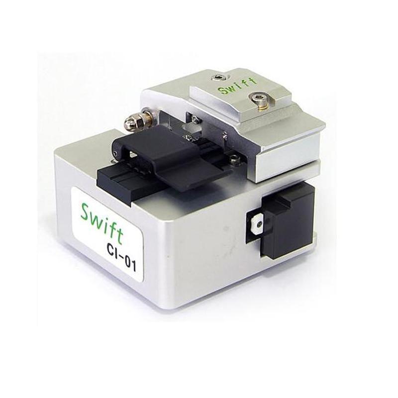 High Precision Swift CI 01 Multi Action Fiber Cleaver with Swift 50 000fibers Fiber Optic splicer