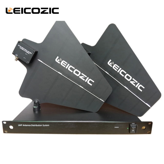 New Active Directional Antenna Wireless System 470 900MHz UHF Distributor Systems UA844 For Microphone UA870WB