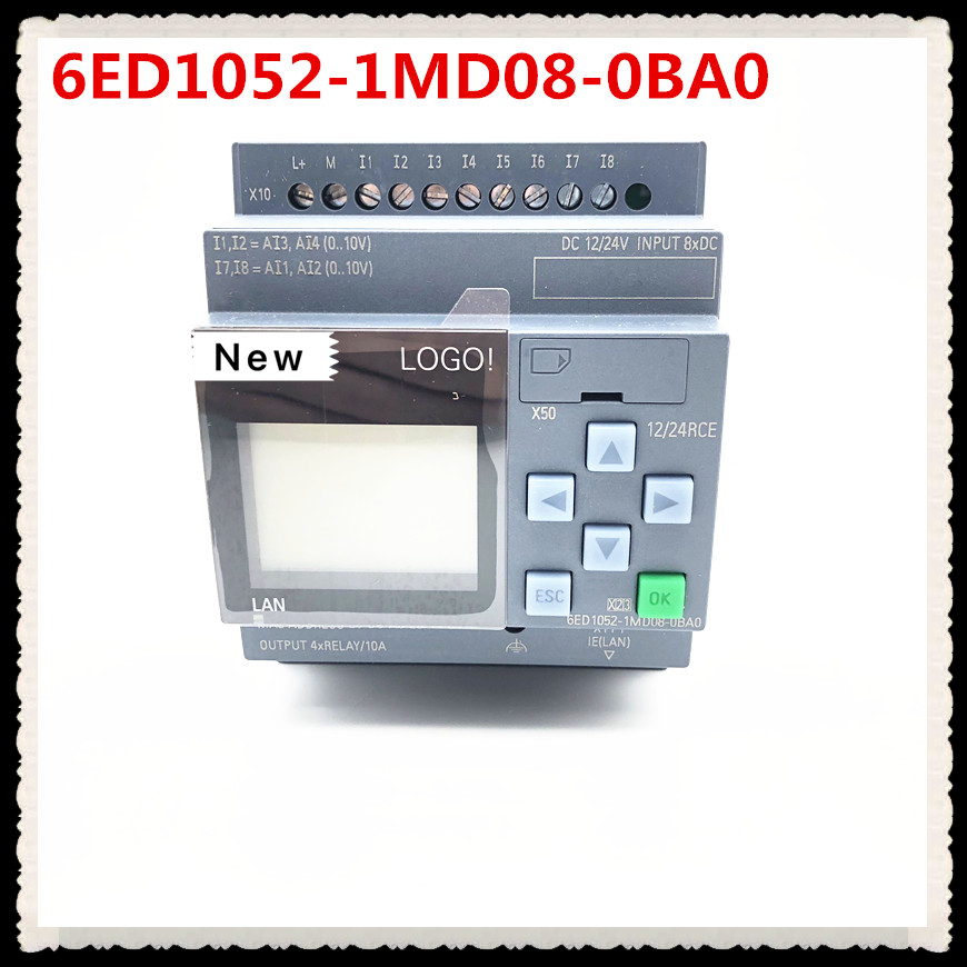 Taofa New Original 6ED1052-1MD08-0BA0 LOGO 12/24RCE With Display Module 12/24V