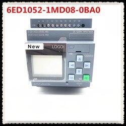 Новый оригинальный 6ED1052-1MD08-0BA0 логотип 12/24RCE не встраеваемых штекеров Дисплей Модуль 12/24V DC/реле 8 DI 4AI 6ED1 052-1MD08-0BA0 ПЛК