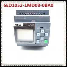 Yeni orijinal 6ED1052 1MD08 0BA0 LOGO 12/24RCE PLC ekran modülü 12/24V DC/röle 8 DI 4AI 6ED1 052 1MD08 0BA0 PLC