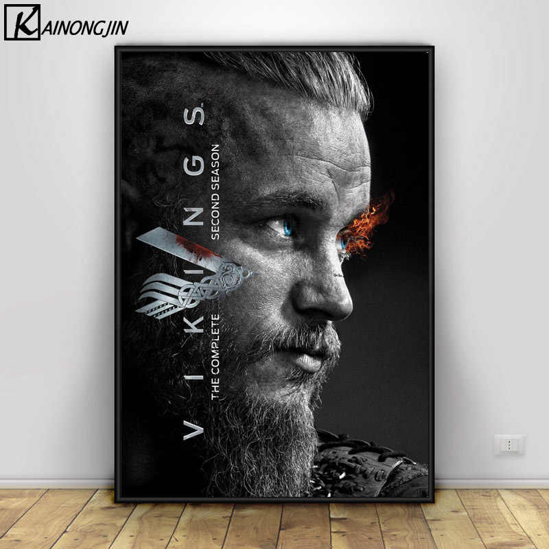Vikings Season HD Canvas Prints painting Home Decor Picture Room Wall Art Poster