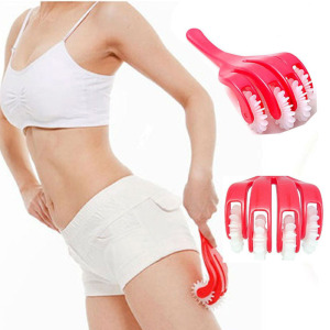 Hip lift Slimming Claw Roller Body Massager Buttocks Leg Thigh Waist Hip lifter lift up trainer Anti Cellulite Massage Beauty(China)