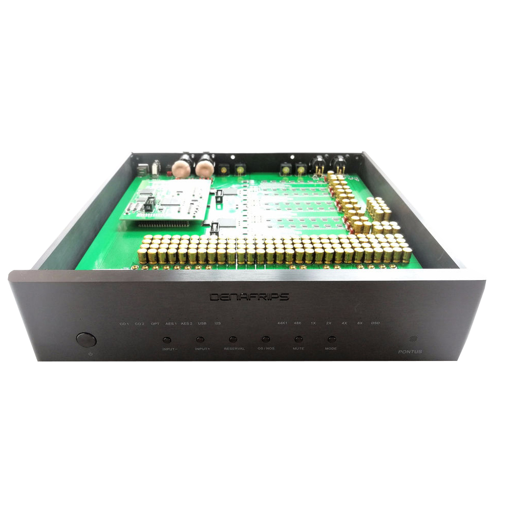Denafrips PONTUS DAC Pure Balanced R2R DAC FIFO  Decoder DSD I2S PCM AES OPTICAL COAXIAL BNC