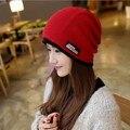 Female fashion tide Baotou hat hat autumn Korean leisure scarf wool insulation sleeve head