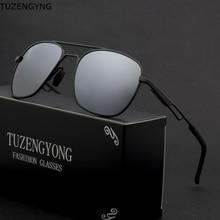 Classic Square Polarized Sunglasses Men Coating Mirror Driving Sun glasses Brand Designer Oculos Male Female Eyewear Accessories