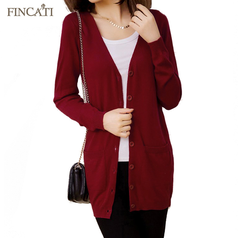 Women Cardigan Spring Autumn Wool Cashmere Sweater Fashion Medium Long Loose Sweaters for Female Outerwear Coat