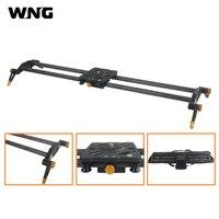 Winningear 80cm 100cm 6 Bearings Carbon Fiber DSLR Camera DV Slider Track Video Stabilizer Rail Track For DSLRs or Camcorder