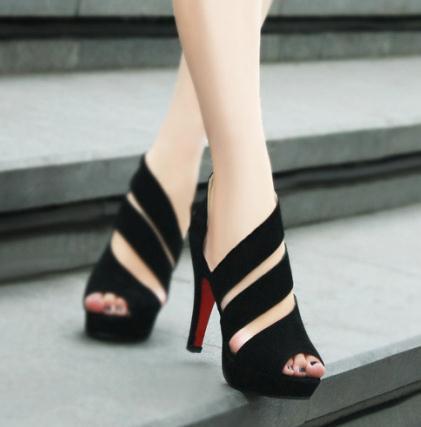 Femmes Mode sandales Femme Nouvelle Chaussure Plate Ete 2015 TF1cl3JK