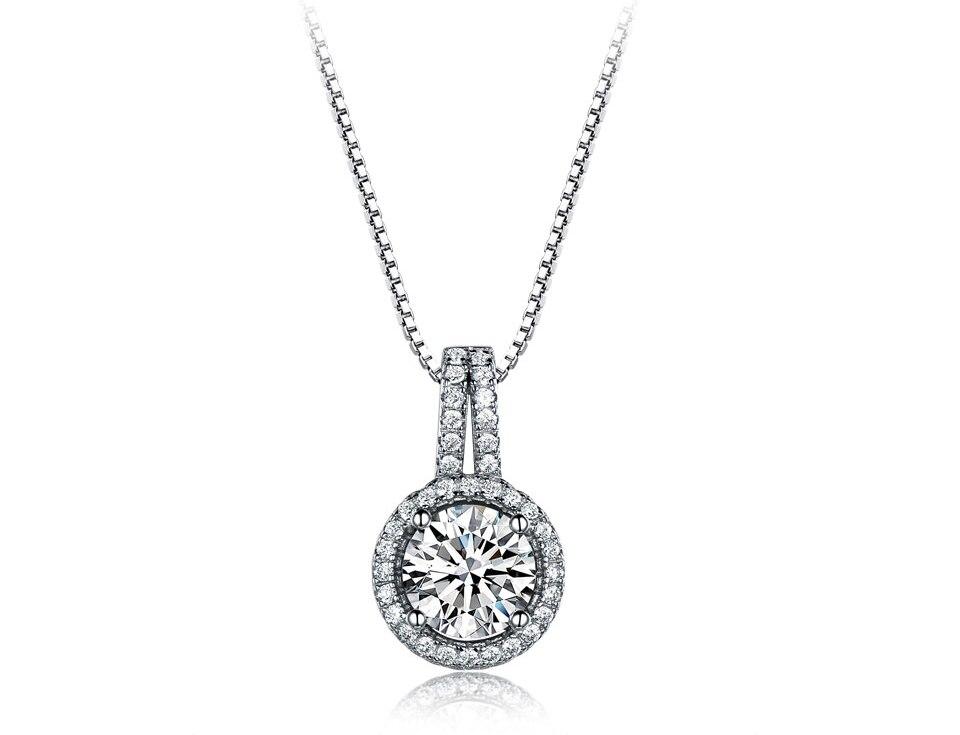 UMCHO CZ 925 sterling silver jewelry set for women S022Z-1 (2)