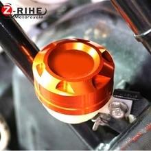 Motorcycle CNC Radiator Water Pipe Cap Cover Brake Fluid Reservoir oil cup For KTM DUKE200 DUKE 390 RC200 RC390 125 200 RC