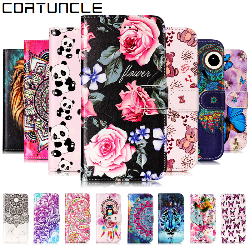 COATUNCLE Flip Leather <font><b>Case</b></font> sFor Fundas <font><b>Samsung</b></font> Galaxy <font><b>S7</b></font> Edge <font><b>case</b></font> For coque <font><b>Samsung</b></font> <font><b>S7</b></font> 3D Relief Wallet Cover Stand <font><b>Phone</b></font> <font><b>Case</b></font> image