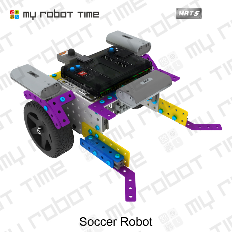 US $453 0 |My Robot Time MRT5 G2 Kids Robot DIY Programmable STEM  Curriculum Kits Educational Toys Science for Robotics Training Course on