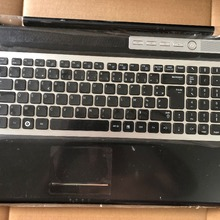 Laptop Keyboard RF70 SAMSUNG FOR with Shell Touchpad Speaker Fr-Version Silver RF711
