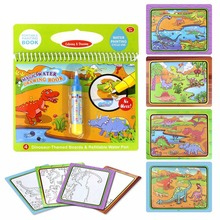 Reusable Water Painting Book Coloring Magic Doodle Drawing Board For Kids Children Toy YJS Dropship