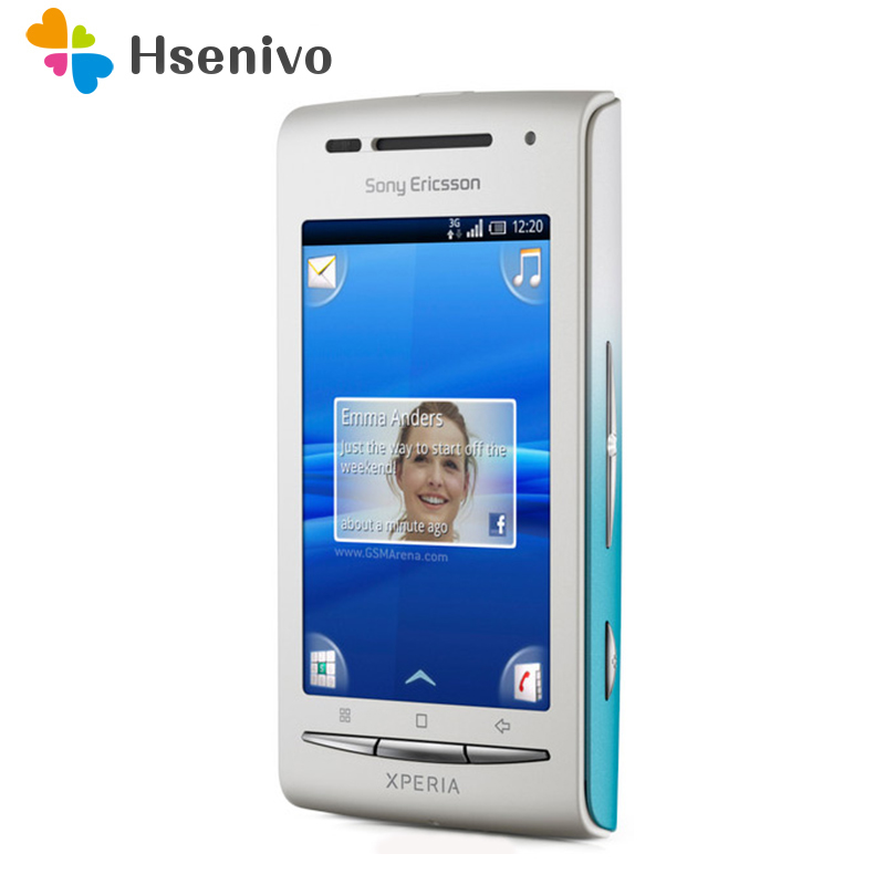 X8 Original Sony Ericsson Xperia X8 E15i Mobile Phone Unlocked Smartphone Android GPS Wi Fi 3.0inch Touchscreen Free shipping