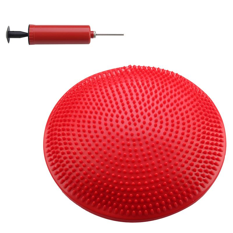 Balance Board Exercises For Knee: Yoga Stability Balance Board Disc Gym Exercise Wobble