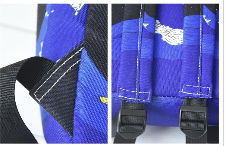 HTB1VEK3XUvrK1RjSspcq6zzSXXab Moon Wood Original Design Black Blue Print Sea Moon Backpack Women Casual Canvas Backpack School Bags For Teenager Girls Sac