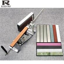 10000 חצץ ruixin pro סכין מחדד יהלומי קצה סכין אבן משחזת סכין אבנים חידוד קבוע זווית סכין מחדד