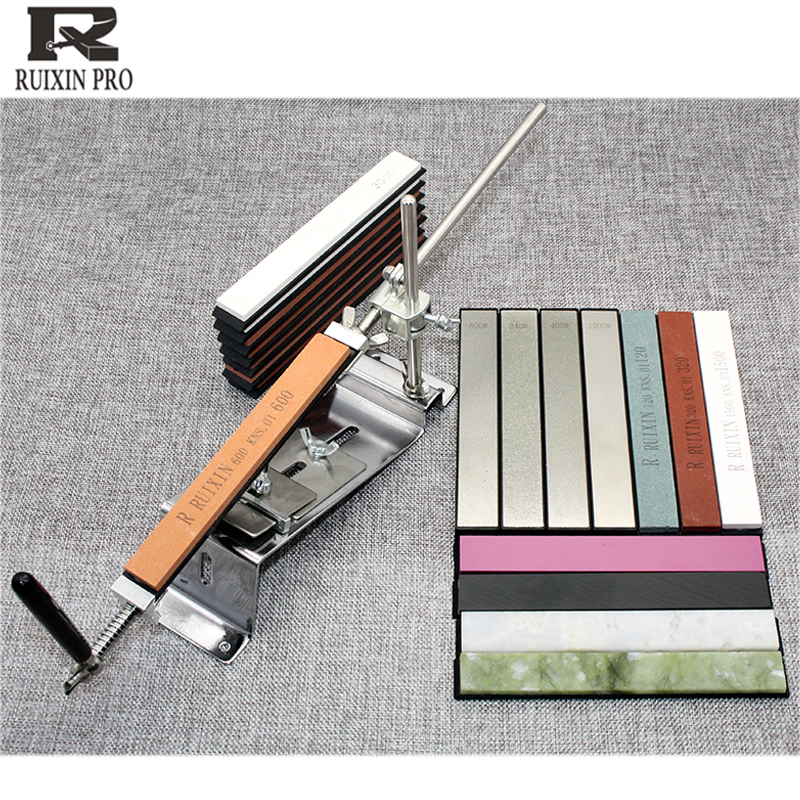 10000grit Ruixin Pro Knife Sharpener Diamond Edge Knife Grindstone Knife Stones Sharpening Fixed Angle Knife Sharpener
