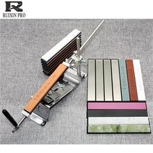 Ruixin pro afilador de cuchillos de grano 10000, con borde de diamante, piedra para afilar cuchillos, afilador de cuchillos de ángulo fijo