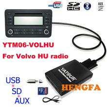 YATOUR Digital Music Changer AUX SD USB MP3 Interface for VOLVO HU-series Radio Yt-m06