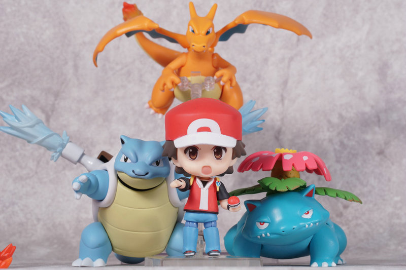 Huong Anime Figure 6-10CM P GO Ash Ketchum Charizard Bulbasaur Blastoise PVC Action Figure Collectible Model Toy huong anime slam dunk 24cm number 11 rukawa kaede pvc action figure collectible toy model brinquedos christmas gift
