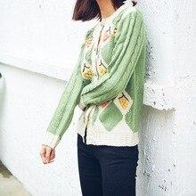 Mori Girl, милый вязаный свитер с объемным цветком, кардиган, Осень-зима, Женский Повседневный вязаный кардиган, куртка, милый кардиган в стиле Лолиты, верхнее пальто