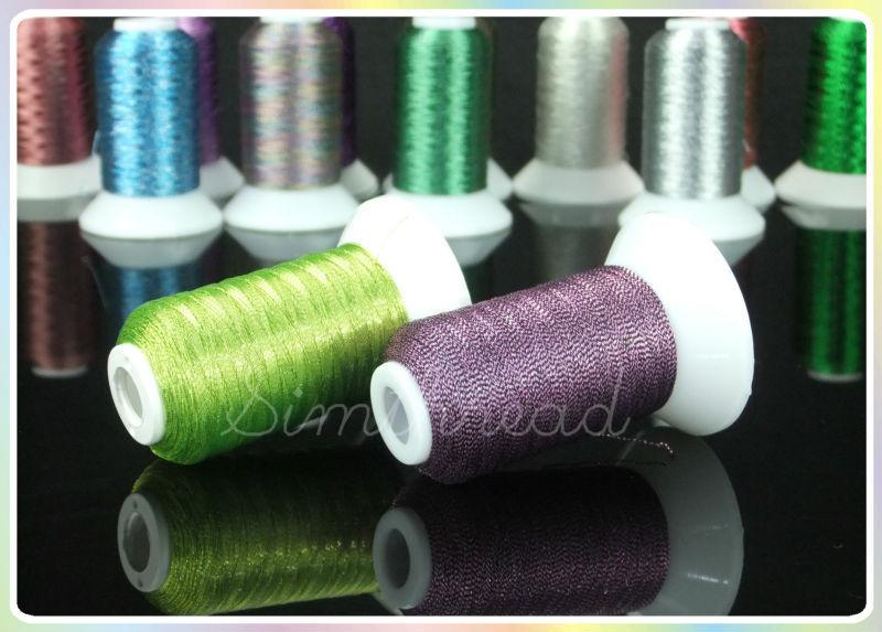 Simthread Metallic Embroidery Machine Thread Non-duplicated 32 - Өнер, қолөнер және тігін - фото 6