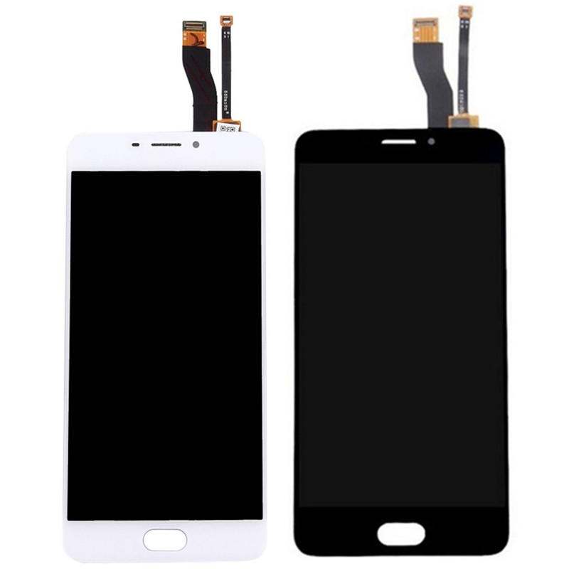 For Meizu M5 Note M621H <font><b>M621Q</b></font> M621M M621C Original lcd display touch screen digitizer touch screen front glass Assembly image
