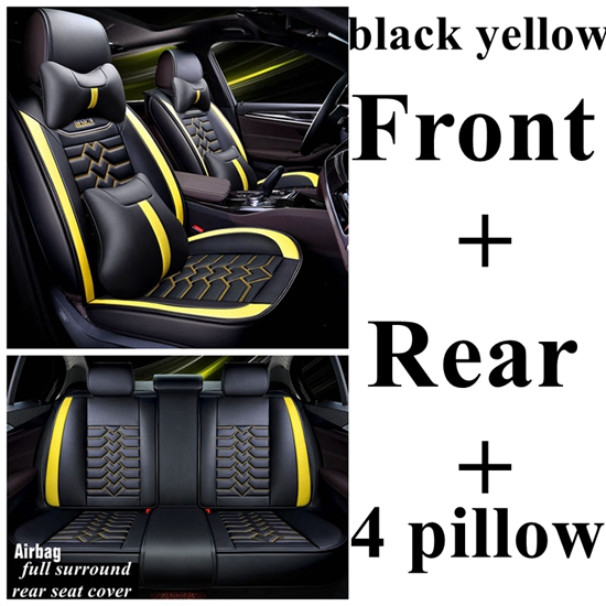 Car seat covers fit Volkswagen Tiguan black//blue full set