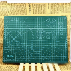 "Image 3 - PVC Cutting Mat a4 ""9 Sea"" Durable Self Healing Handmade DIY Quilting Accessories Flexible Green Patchwork Board Tool 30*22 cm"