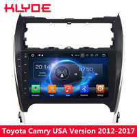 KLYDE 4G Android 8 7 Octa Core 4GB RAM 32GB ROM Car DVD Multimedia Player Stereo For Toyota Camry 2012 2013 2014 2015 2016 2017