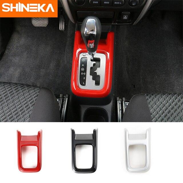 SHINEKA Car-Styling ABS Gear Shift Decorative Cover Trim for Suziki Jimny 2007+Car Accessories