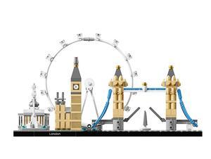 Image 4 - 10678 Architecture ensemble de construction londres 21034 Big Ben tour pont modèle bloc de construction briques jouets