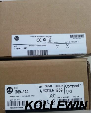Freeship New Original Allen Bradley 1769-PA4 CMPLX Selectable AC 4A/2A Power Supply 1769 PA4 1769PA4 factory seal 1year warranty new original xs7c1a1dbm8 xs7c1a1dbm8c warranty for two year