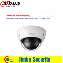 Dahua PoE camaras de seguridad DH IPC HDBW4221E AS IP cam have Micro SD memory IP67