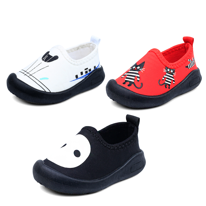 2018 spring childrens skid shoe school shoes TPR flat bottom boy and girl 1-3 year old comfortable shoes 3 color