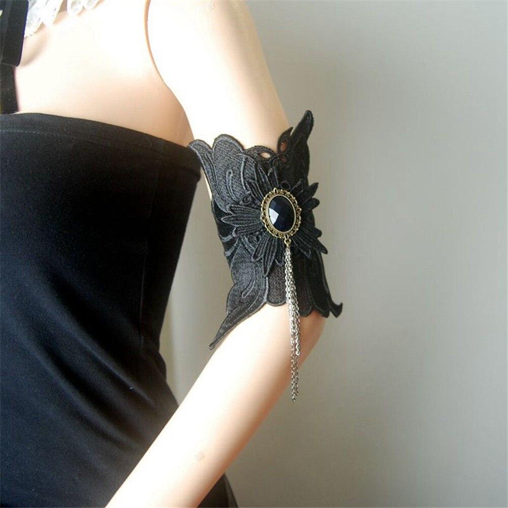 Bekleidung Zubehör Damen-accessoires 1 Stück Vintage Steampunk Frauen Lace-up Oberen Armbinde Cuff Punk Gothic Armband Armreif Gut Verkaufen Auf Der Ganzen Welt