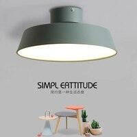 T Simple LED Ceiling Light Circular Creative Living Room Balcony Corridor Light Fashin Modern Home Lighting