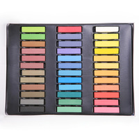 36 Colors Mix Color Easy To Clean Non Toxic Temporary DIY Hair Color Chalk Dye Pastels