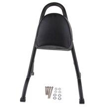 1 Set Passenger Sissy Bar Detachable Backrest PU Leather Cushion For Sportster XL 883 1200 2004-2016 Black цена 2017